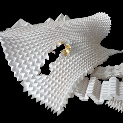 folding experiments 2016 by Marta Pinilla